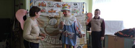 Dr. klaun - prednosta staničky - w15