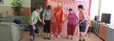 Dr. klaun - ruženkin šašo - DSCN6224W